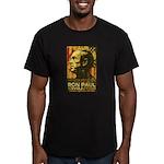 Ron Paul Men's Fitted T-Shirt (dark)