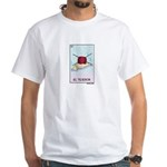 El Tejedor [for guy knitters] White T-Shirt