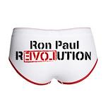 Ron Paul Revolution Women's Boy Brief