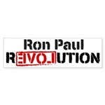 Ron Paul Revolution Sticker (Bumper 50 pk)
