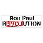 Ron Paul Revolution Sticker (Bumper 10 pk)