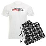 Ron Paul Revolution Men's Light Pajamas
