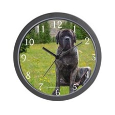 Mastiff 49 Wall Clock