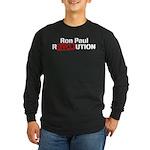 Ron Paul Revolution Long Sleeve Dark T-Shirt