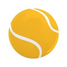 """Tennis ball 3.5"""" Button (100 pack)"""