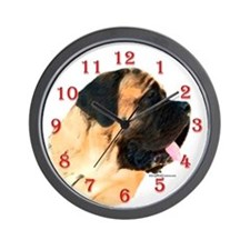 Mastiff 50 Wall Clock