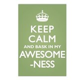 Keep Calm Awesomeness Postcards (Package of 8)