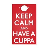 Keep Calm Have a Cuppa 22x14 Wall Peel