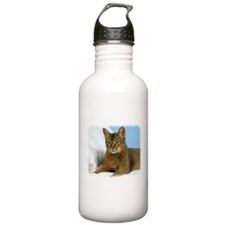 Abyssinian Cat 9Y009D-020 Water Bottle