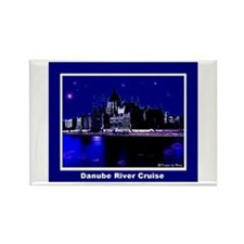 Danube River Cruise Rectangle Magnet (10 pack)