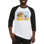 Sunflowers-Yellow Lab 7 Baseball Jersey