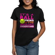 Girls Softball Tee