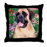 Mastiff 23 Throw Pillow