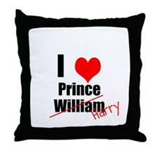 Royal Wedding Throw Pillow