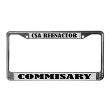 CSA Reenactor Commissary License Frame