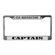 CSA Reenactor Captain License Frame