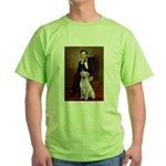 Lincoln-Yellow Lab 7 Green T-Shirt