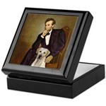Lincoln-Yellow Lab 7 Keepsake Box