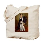 Lincoln-Yellow Lab 7 Tote Bag