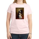 Lincoln-Yellow Lab 7 Women's Light T-Shirt