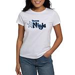 Shadow Ninja Blue Women's T-Shirt