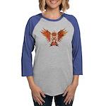Shadow Ninja Blue Organic Toddler T-Shirt (dark)