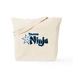 Shadow Ninja Blue Tote Bag