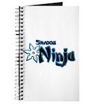 Shadow Ninja Blue Journal