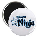 Shadow Ninja Blue Magnet