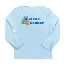 Baby Blocks Connor Long Sleeve Infant T-Shirt