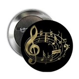 "Cute Instrument 2.25"" Button"