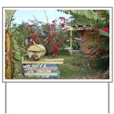 Jerk Chicken Stand Negril Jamaica Yard Sign