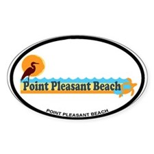 Point Pleasant Beach NJ - Beach Design Decal