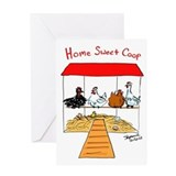 Home Sweet Coop Greeting Card