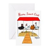 Home Sweet Coop Greeting Cards (Pk of 10)