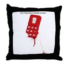 For Richard Castle... Throw Pillow