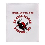 No Bull 5 Throw Blanket