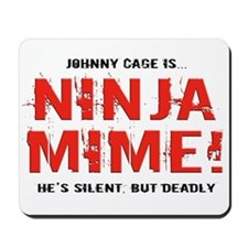 Ninja Mime Mousepad