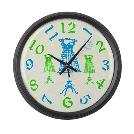 HOME DECOR WALL CLOCKS Large Wall Clock by District818