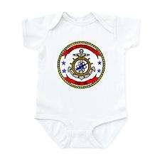 USS Mississippi CGN 40 Infant Creeper
