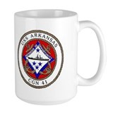 USS Arkansas CGN 41 Mug