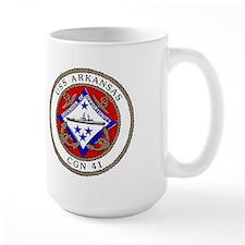 USS Arkansas CGN 41 Mug