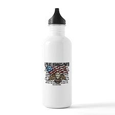POLICE OFFICER'S PRAYER Water Bottle