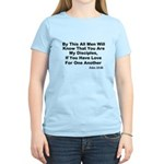 Jesus: My Disciples Love Others Women's Light T-Sh