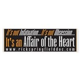 Unique Affair Bumper Sticker