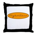 Fly Boitano Throw Pillow
