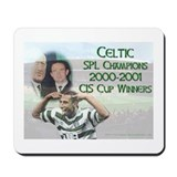 Glasgow Celtic Champions Mousepad