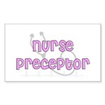 Nurse Preceptor Sticker (Rectangle 50 pk)