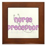 Nurse Preceptor Framed Tile