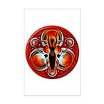 Goddess of the Red Moon Mini Poster Print